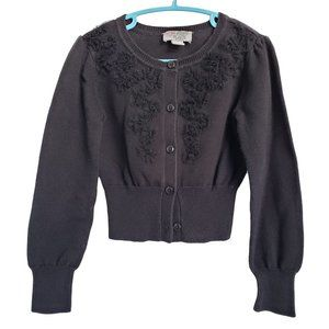 CHILDREN'S PLACE Lace Embellished Sweater S (5-6)